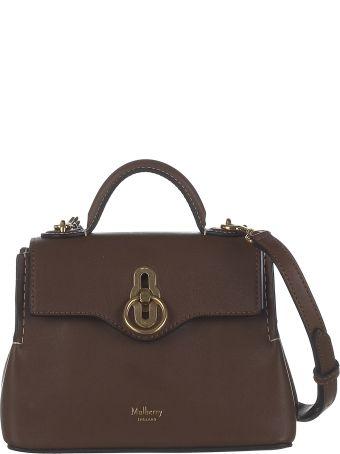 Mulberry Logo Shoulder Bag