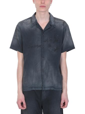 John Elliott Black Cotton Shirt