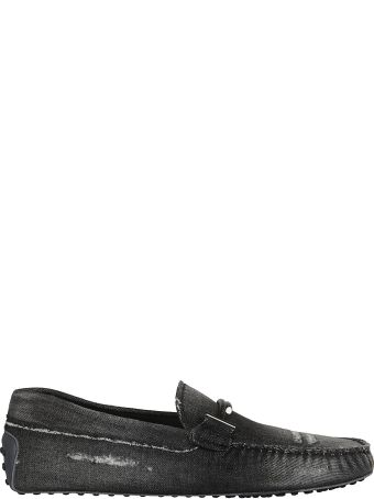 Tod's Double T Denim Loafers