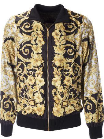Versace Floral Printed Jacket