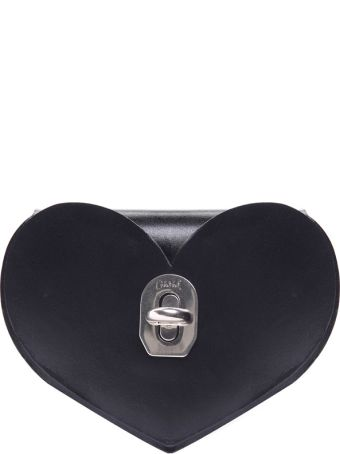 Niels Peeraer Heart Baby Smooth-leather Clutch