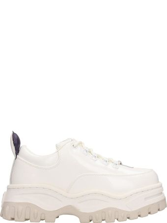 Eytys Angel White Leather Sneakers