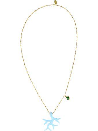 Katerina Psoma Murano Pendant Necklace