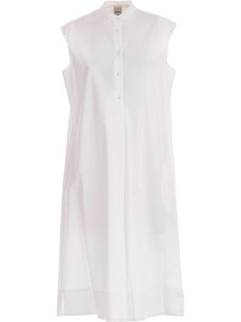 Aspesi Sleeveless Buttoned Dress