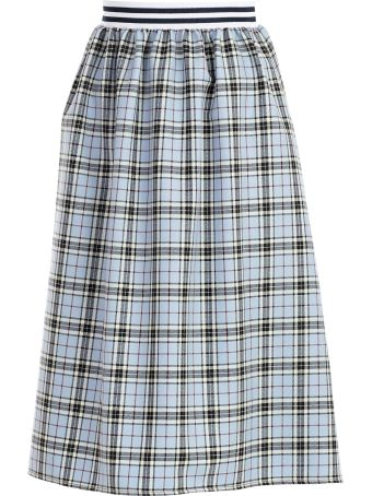 Ultrachic Checked Skirt