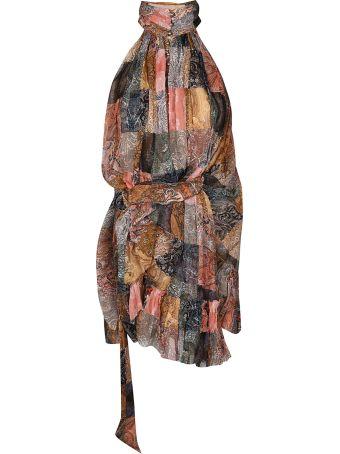 Zimmermann Paisley Printed Short Dress
