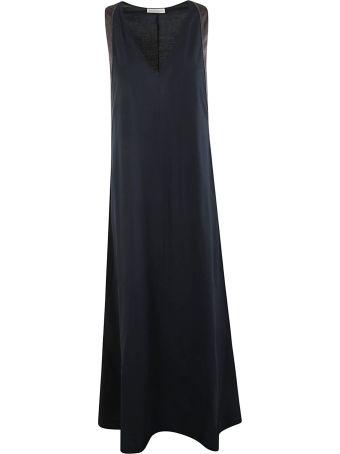 Brunello Cucinelli Contrast Side Dress