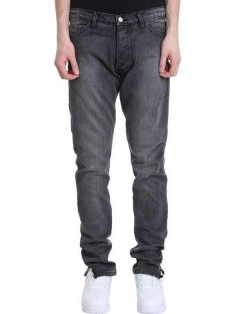 Rhude Dirt Road Grey Denim Jeans