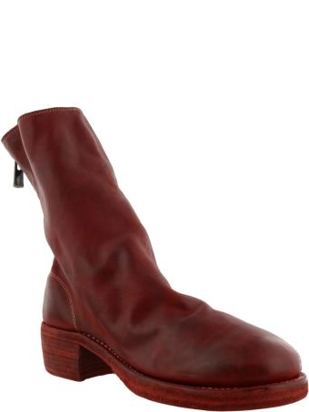 Guidi Back Mid Zip Boots
