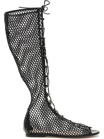 Gianvito Rossi Helena Flat Boots