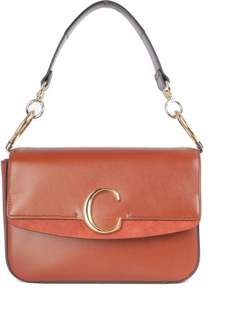 "Chloé Pocket Inside, Gold Details, Closure ""c""/tracolla"