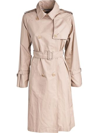 Weekend Max Mara Water-repellent Taffeta Trench Coat