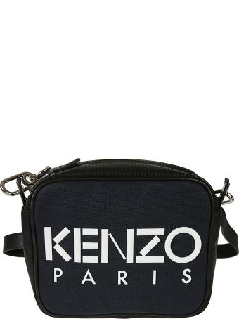Kenzo Logo Print Shoulder Bag