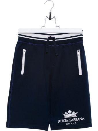Dolce & Gabbana Logo Bermuda Shorts