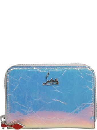 Christian Louboutin Signature Logo Plaque Zip-around Wallet