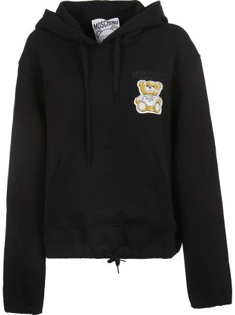 Moschino Embroidered Oversized Hoodie