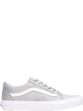 Vans Old Skool Silver Glitter Sneakers