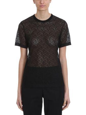 Helmut Lang Black Lace T-shirt