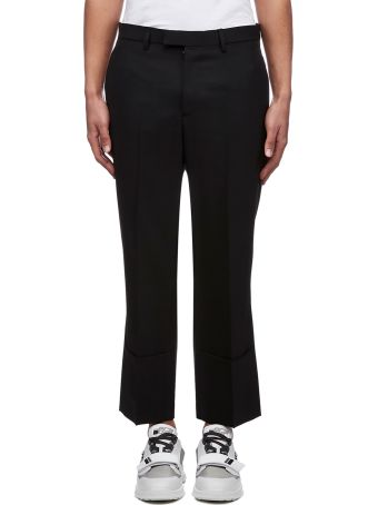 Raf Simons Cropped Tailored Trousers
