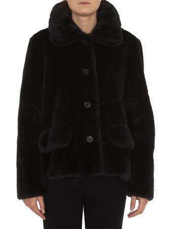 STAND Noemie Eco Fur Jacket