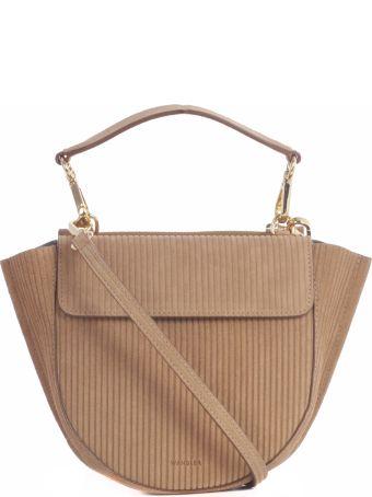 Wandler Hortensia Mini Corduroy Shoulder Bag