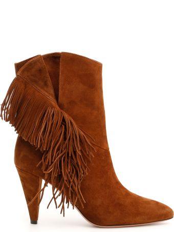 Aquazzura Wild Fringe Boots 85