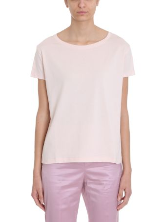 Acne Studios Pink Cotton Eldora T-shirt