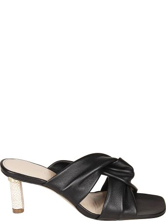 Jacquemus Crossover Sandals