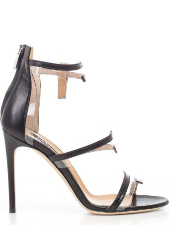 Sergio Rossi Zipped Sandals