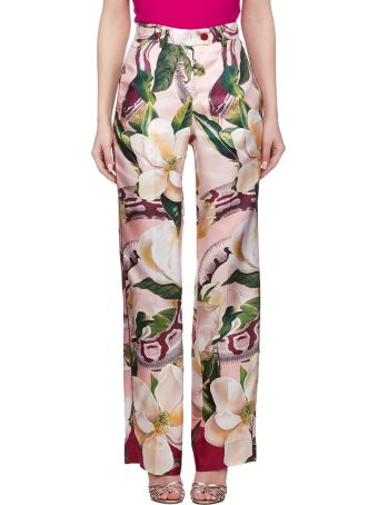For Restless Sleepers Floral Trousers