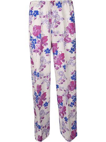 Dries Van Noten Floral Trousers