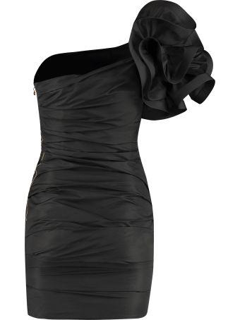 Elisabetta Franchi Celyn B. Asymmetric Mini Dress