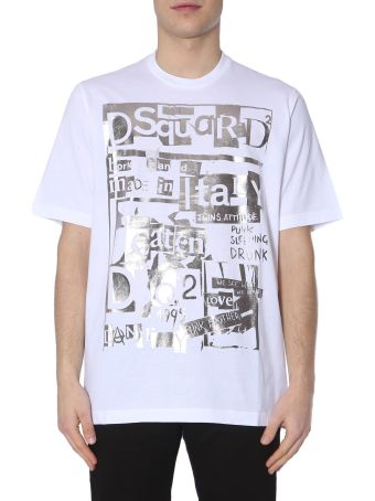 Dsquared2 Slouch Fit T-shirt