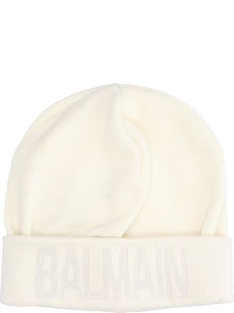 Balmain Logo Wool Beanie