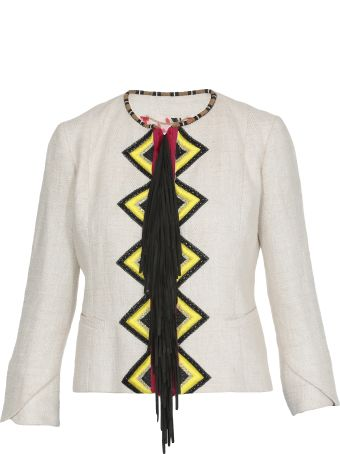 Bazar Deluxe Jacket With Embroideries