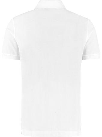 Dolce & Gabbana Stretch Cotton Piqué Polo Shirt