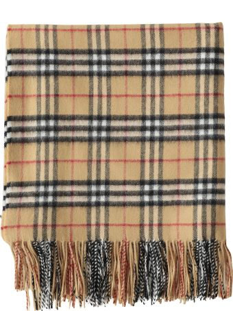 Burberry Cashmere And Wool Cape