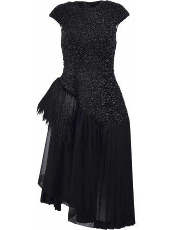 Simone Rocha Asymmetric Detailed Dress