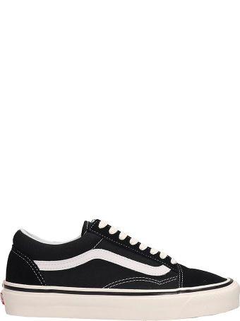 Vans Black Suede And Fabric Old Skool 36dx Sneakers