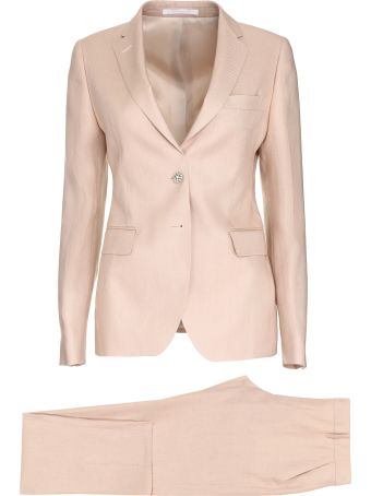 Tagliatore 0205 Stretch Linen Two Piece Suit