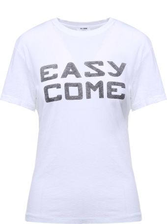 RE/DONE Easy Come-print Cotton-jersey Girlfriend T-shirt