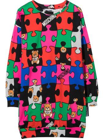 Moschino Multicolor Teen Dress