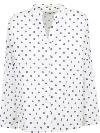 Massimo Alba Polka Dot Print Shirt
