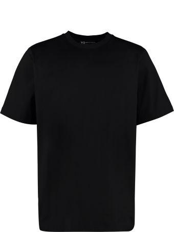 Y-3 Yohji Skull Cotton T-shirt