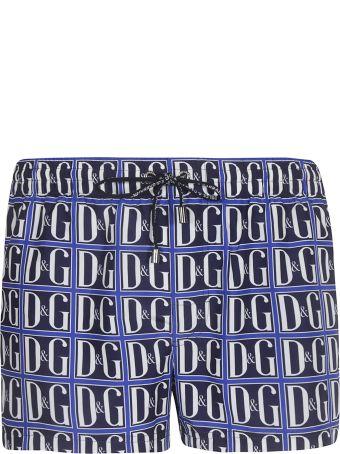Dolce & Gabbana Logo Motif Boxer Shorts