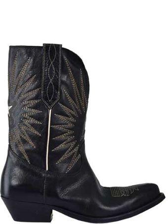 Golden Goose Deluxe Brand Western Boots