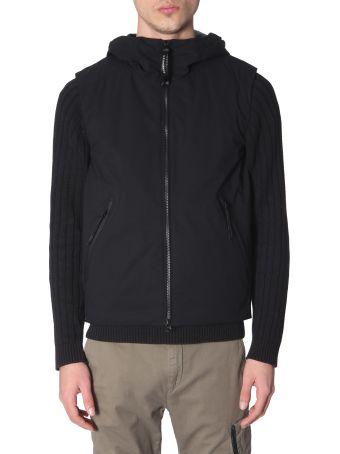 C.P. Company Long Sleeve Hooded Sweatshirt