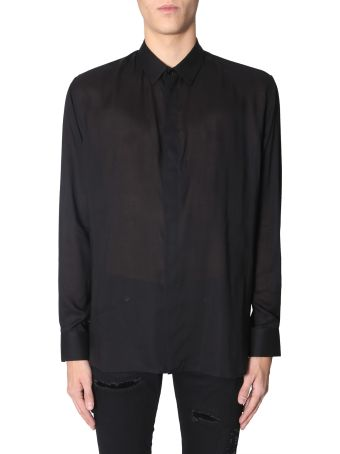 Saint Laurent Shirt With Yves Collar