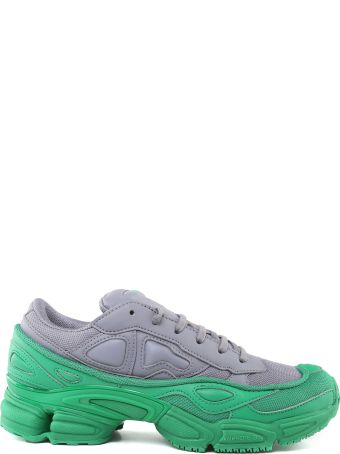 Adidas By Raf Simons Ozweego Mesh And Leather Sneakers