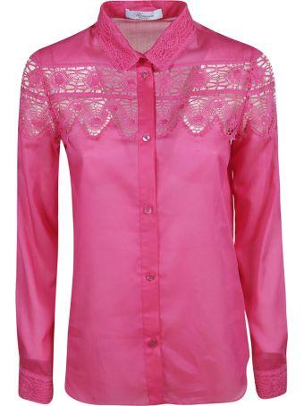 Blumarine Laced Detail Shirt